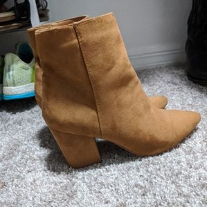 Justfab Suede-like booties
